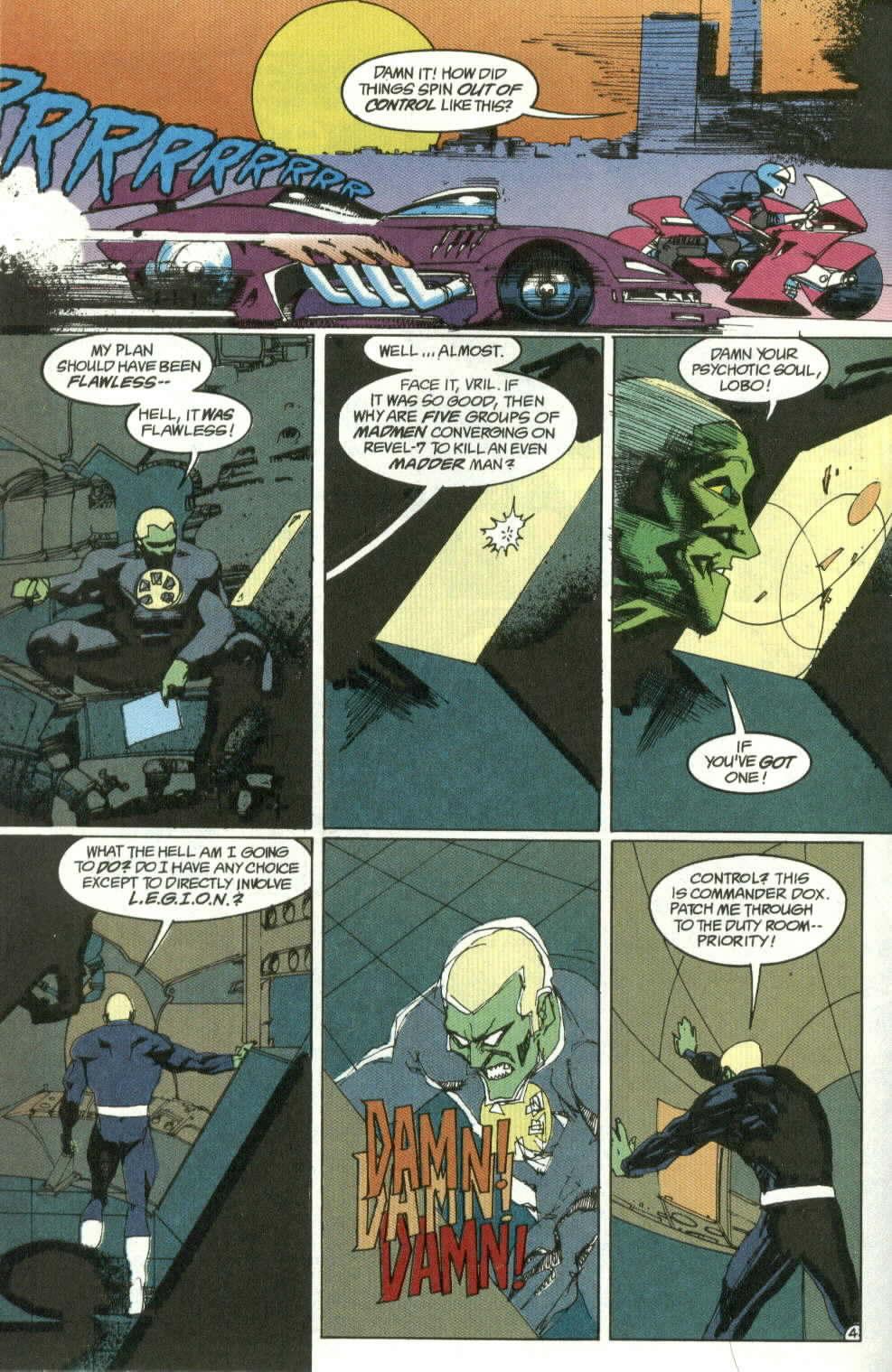 Read online Lobo (1990) comic -  Issue #4 - 5