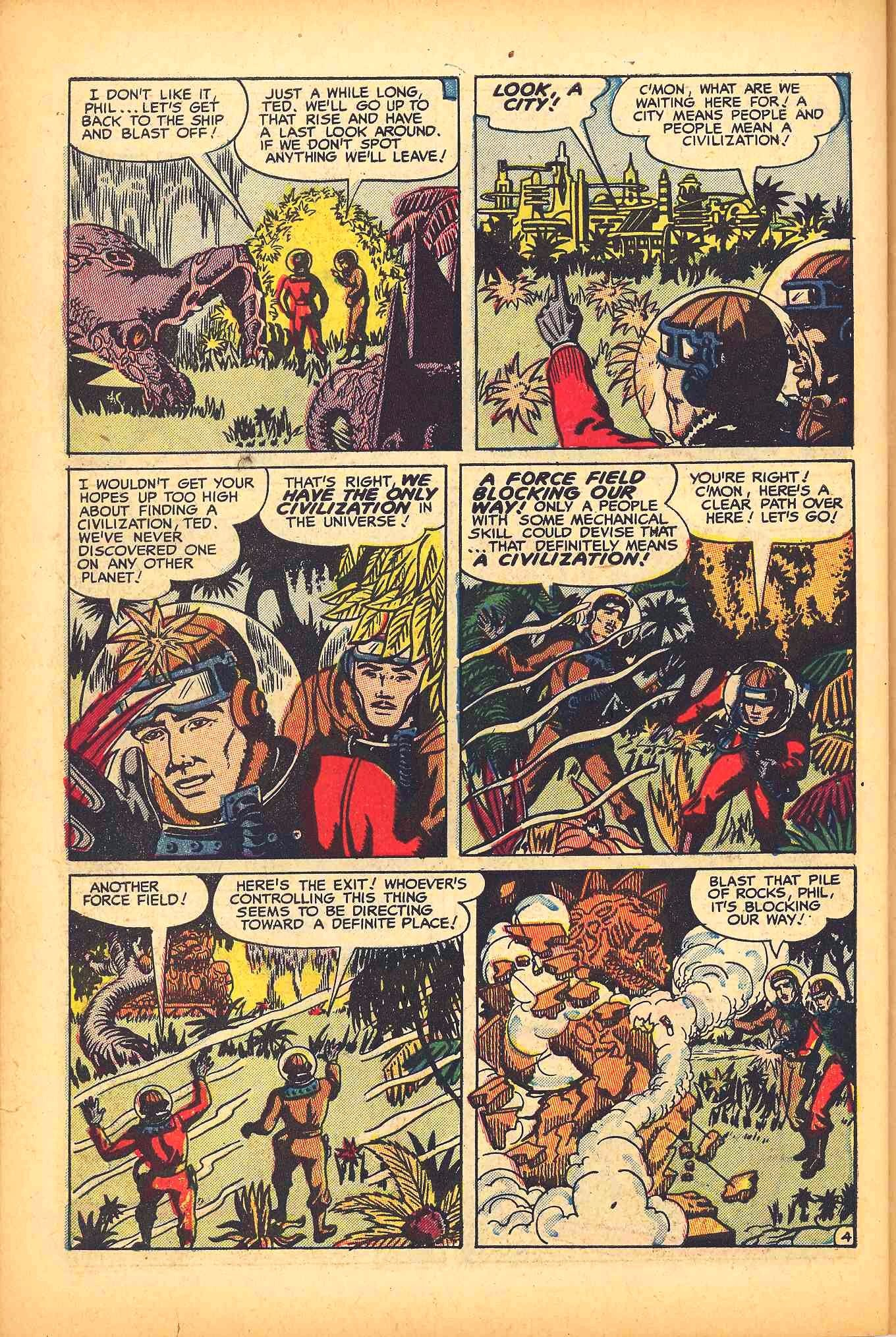 Weird Mysteries (1952) issue 6 - Page 30