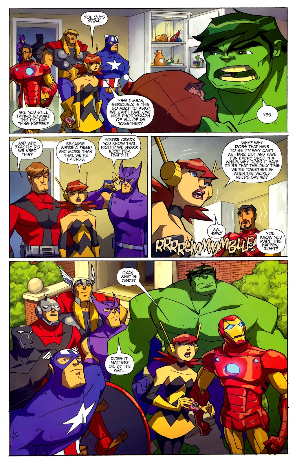 Avengers: Earth's Mightiest Heroes (2011) Issue #4 #4 - English 5