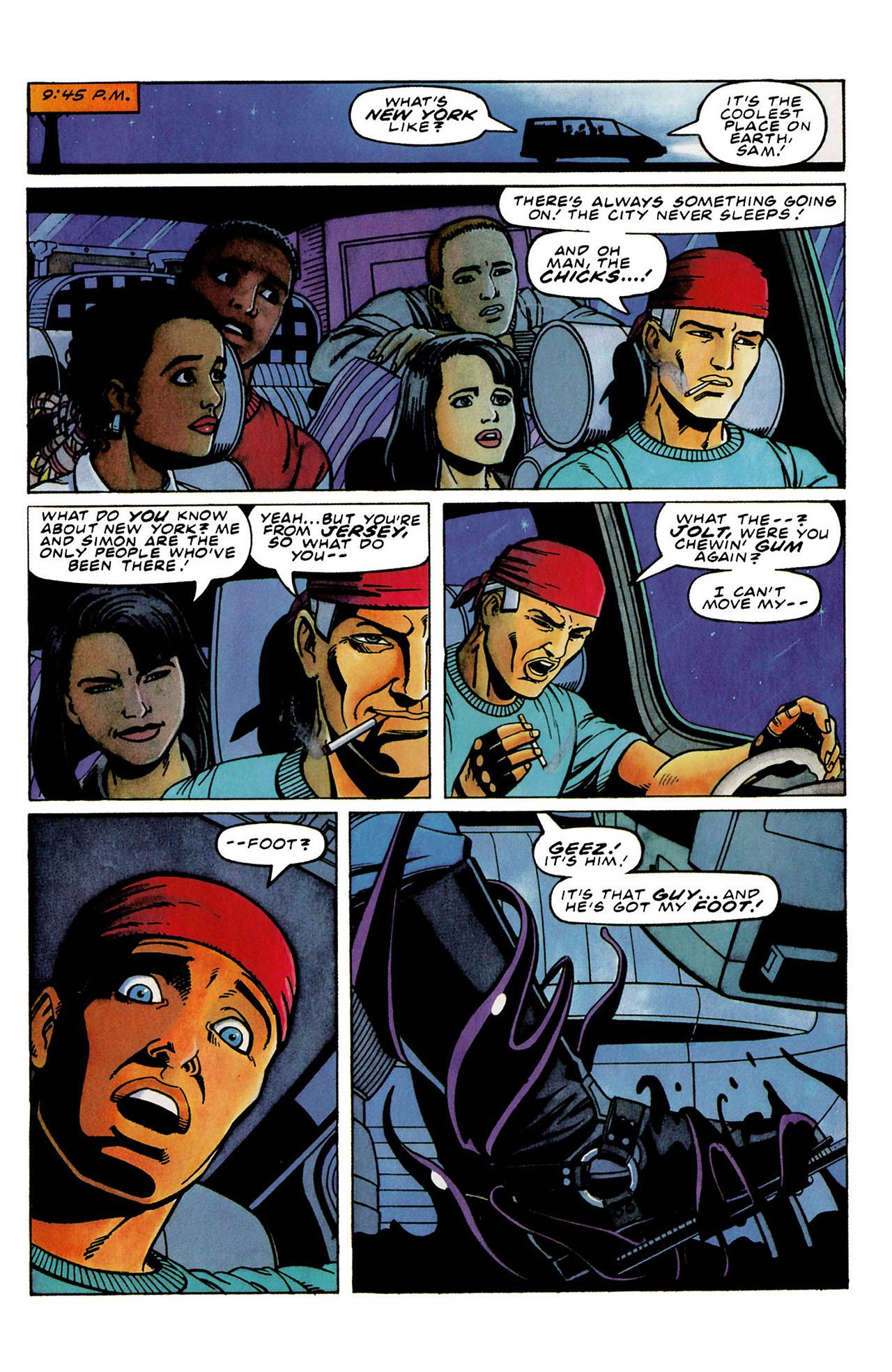Read online Harbinger (1992) comic -  Issue #33 - 21
