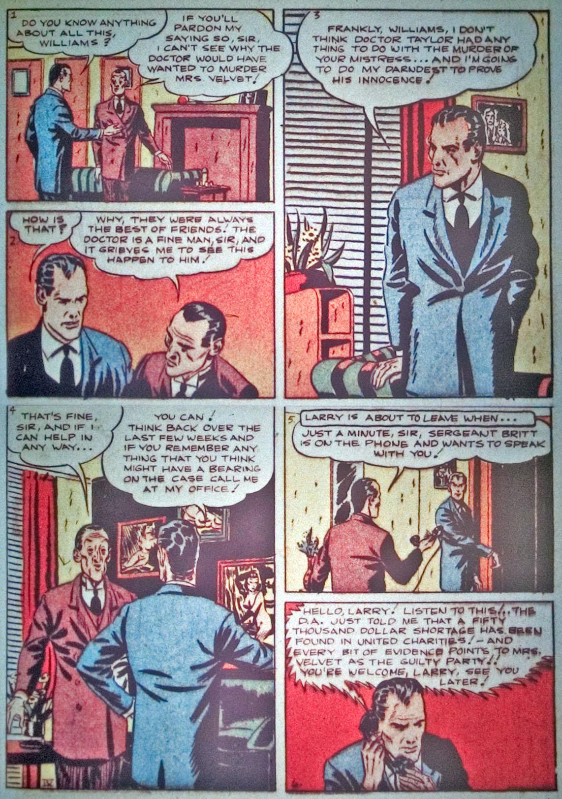 Read online Detective Comics (1937) comic -  Issue #31 - 31