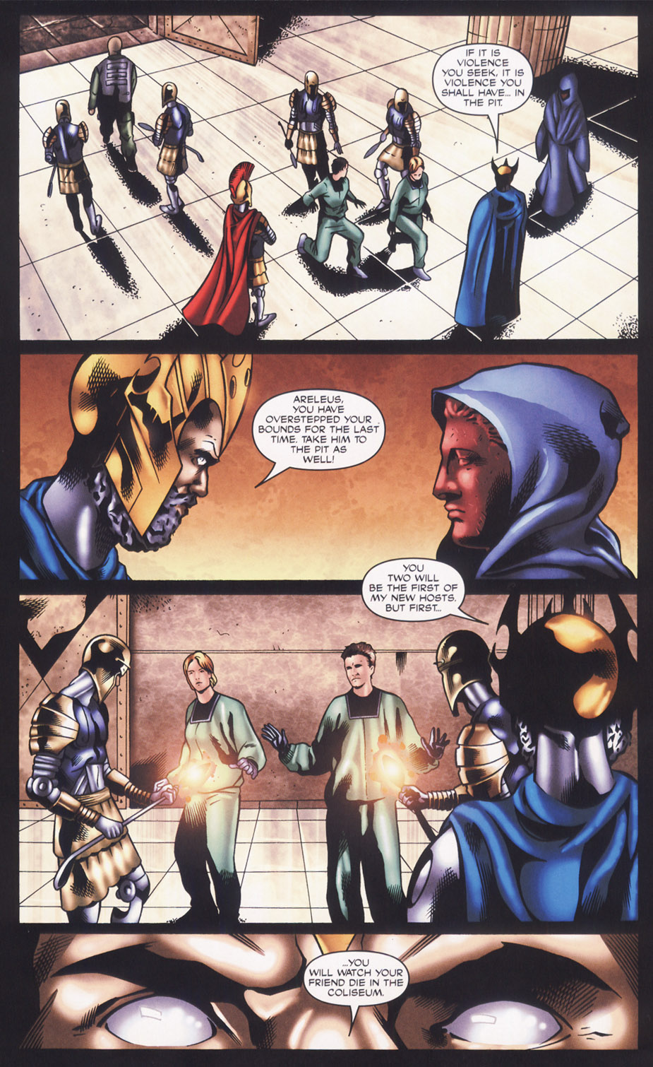 Read online Stargate SG-1: Fall of Rome comic -  Issue #2 - 17