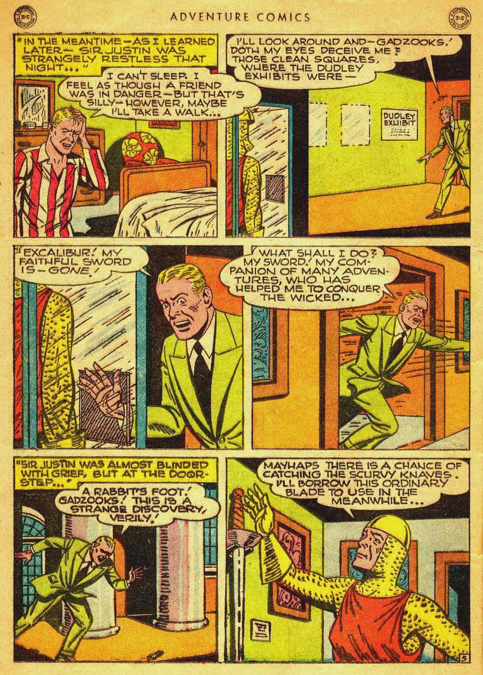 Read online Adventure Comics (1938) comic -  Issue #121 - 35