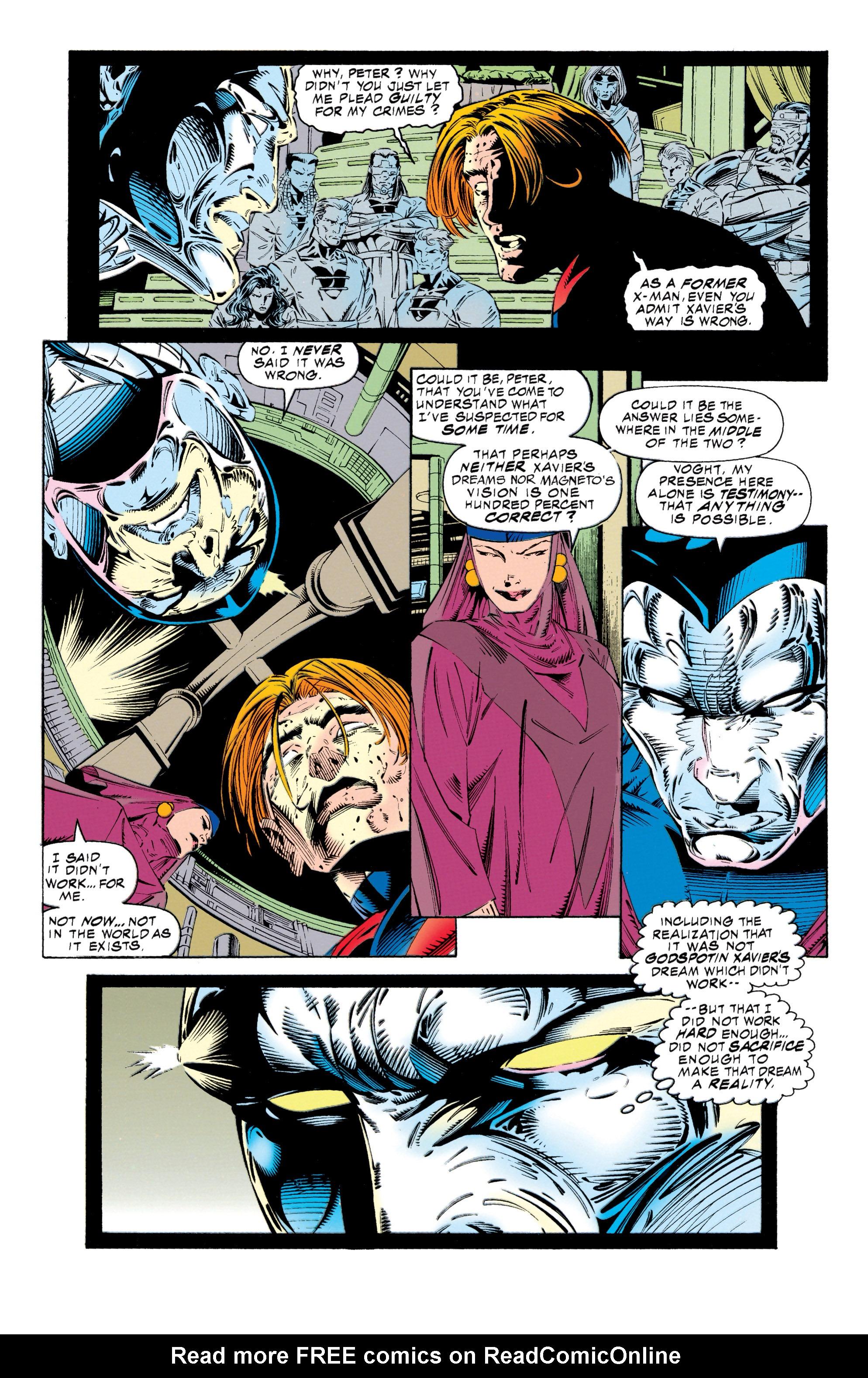 Read online Uncanny X-Men (1963) comic -  Issue #315 - 17