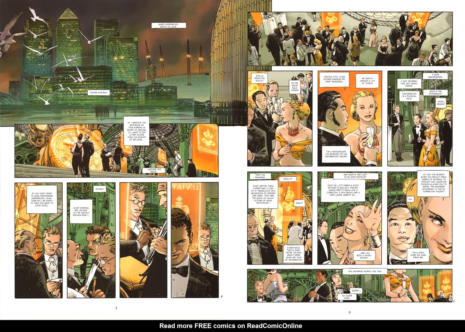 Read online Cutting Edge (2013) comic -  Issue #1 - 9