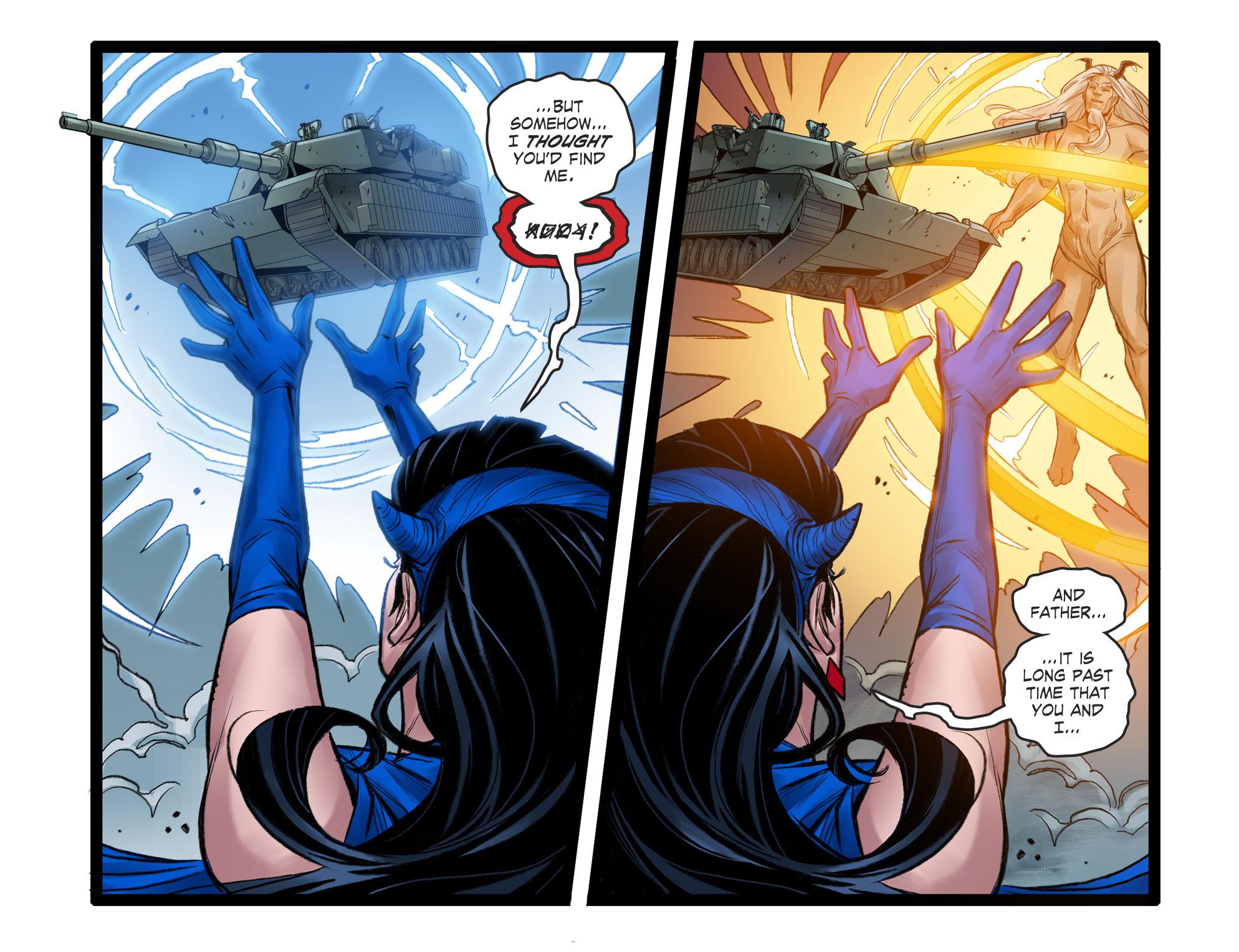 Read online DC Comics: Bombshells comic -  Issue #96 - 7