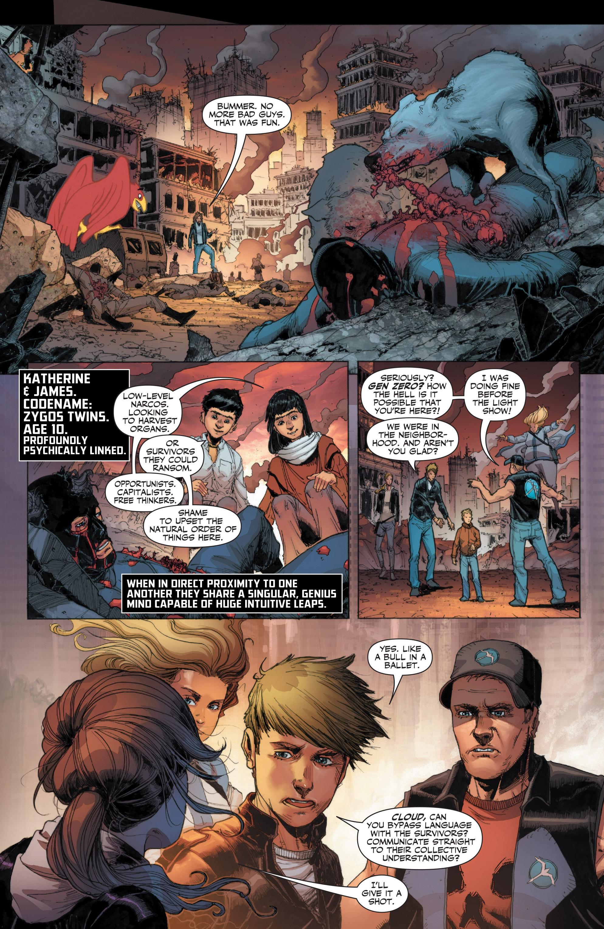 Read online Armor Hunters: Harbinger comic -  Issue # TPB - 23