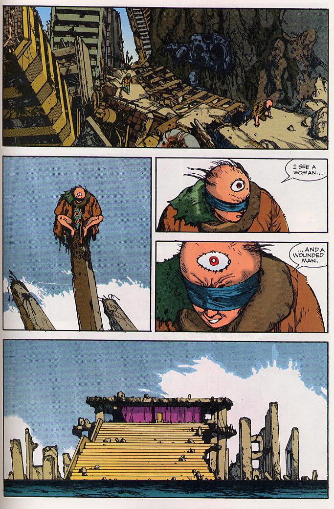 Read online Akira comic -  Issue #24 - 61