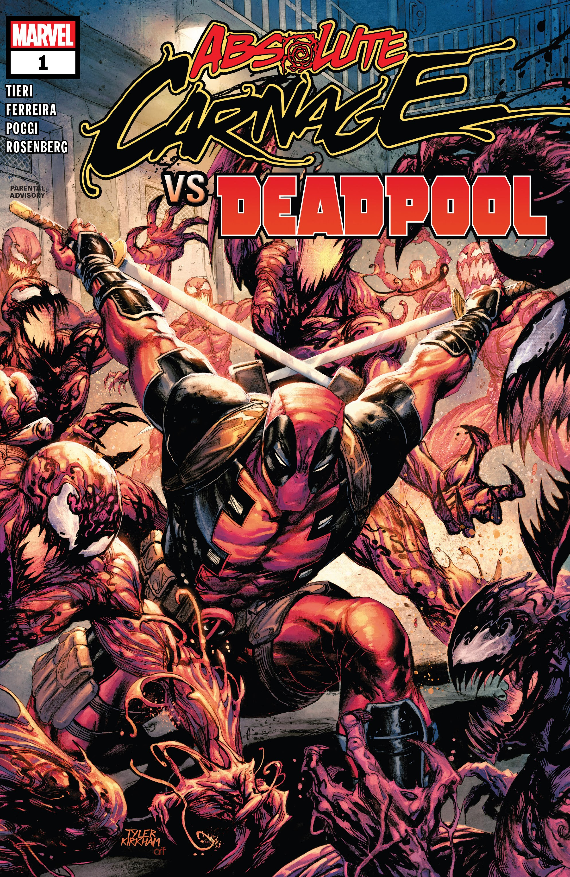 Absolute Carnage vs. Deadpool issue 1 - Page 1