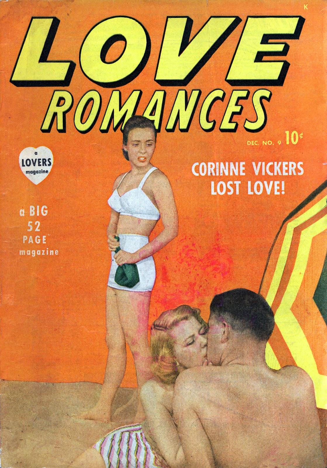 Love Romances (1949) issue 9 - Page 1