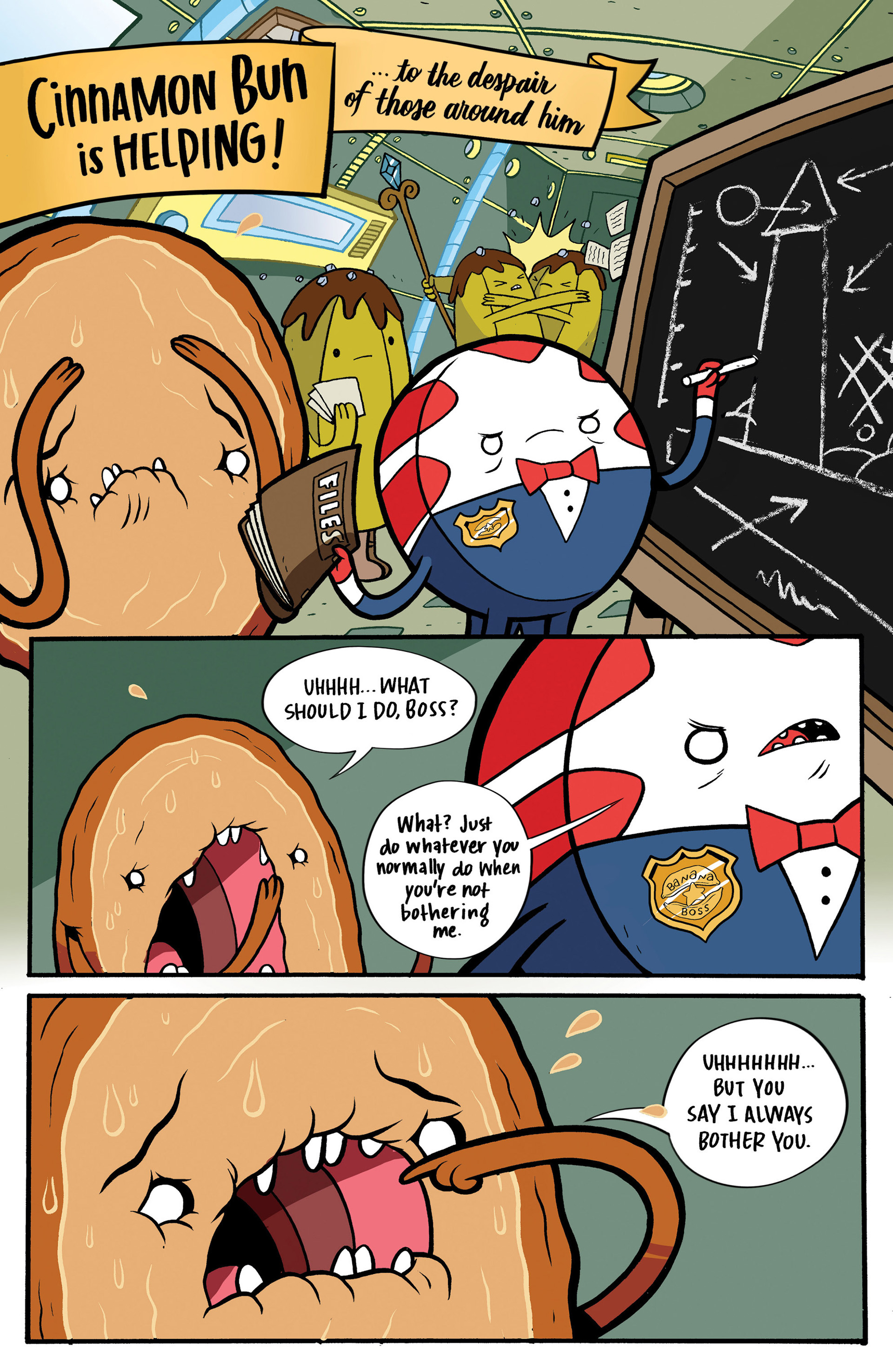 Read online Adventure Time: Candy Capers comic -  Issue #1 - 19