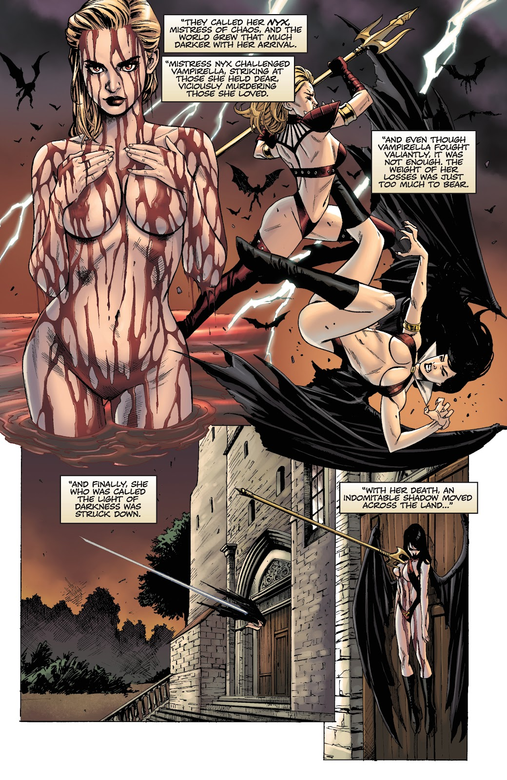 Read online Vengeance of Vampirella (2019) comic -  Issue #1 - 9