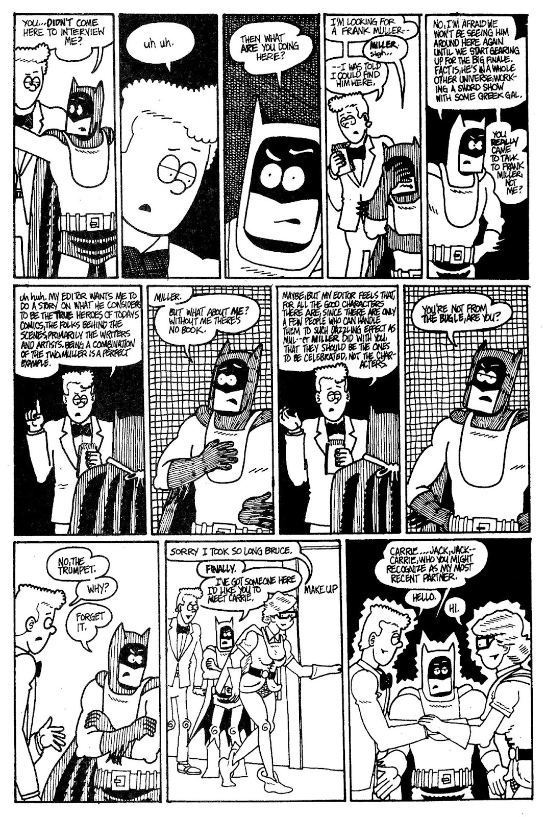 Read online The Nearly Complete Essential Hembeck Archives Omnibus comic -  Issue # TPB (Part 6) - 34