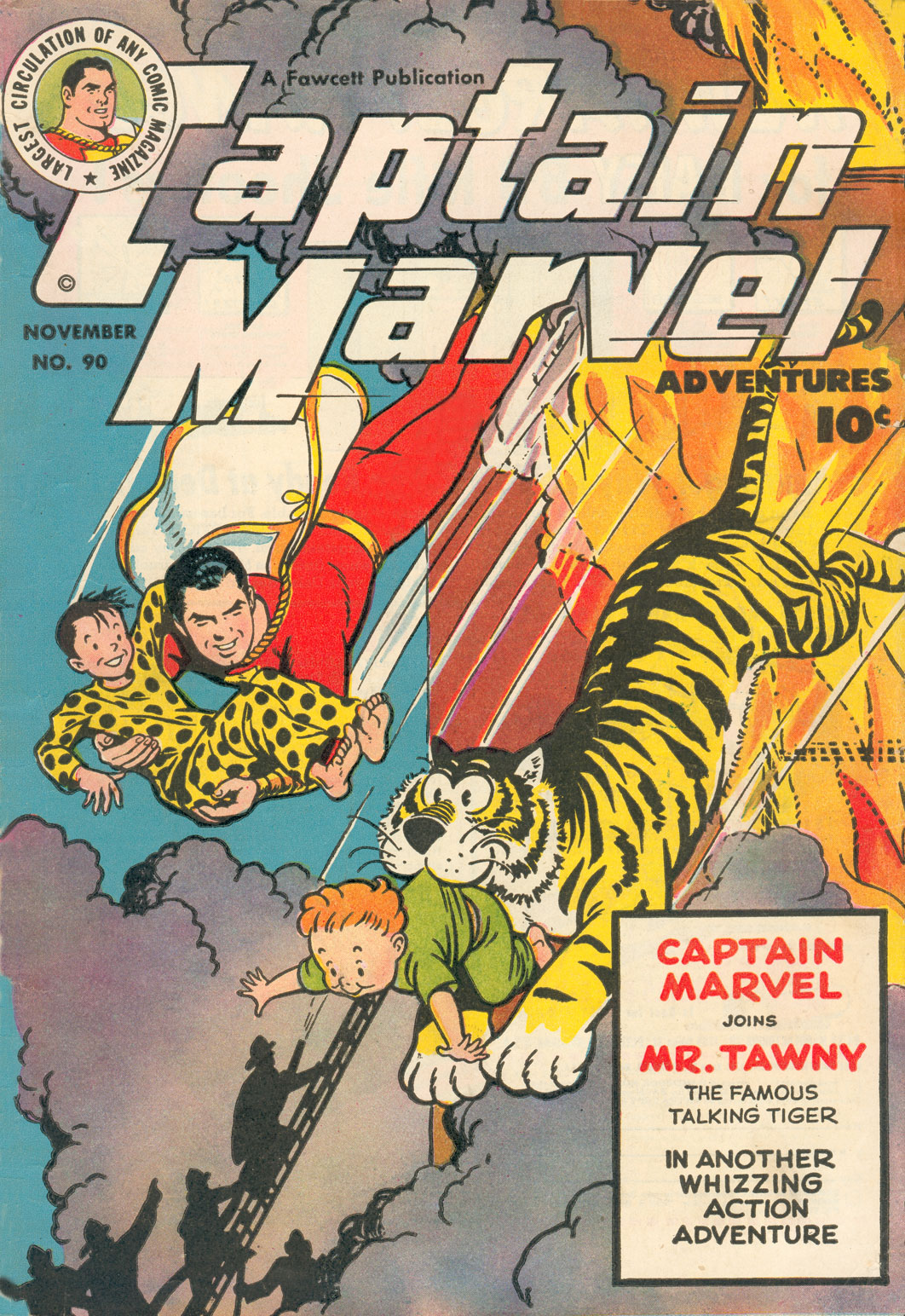 Captain Marvel Adventures 90 Page 1