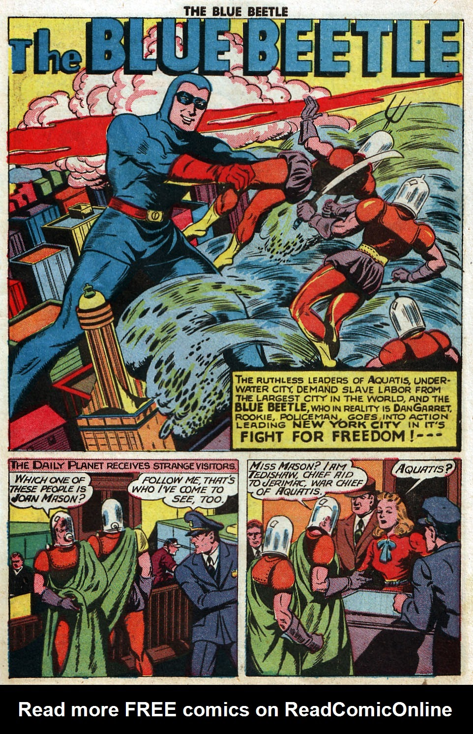 The Blue Beetle issue 33 - Page 39