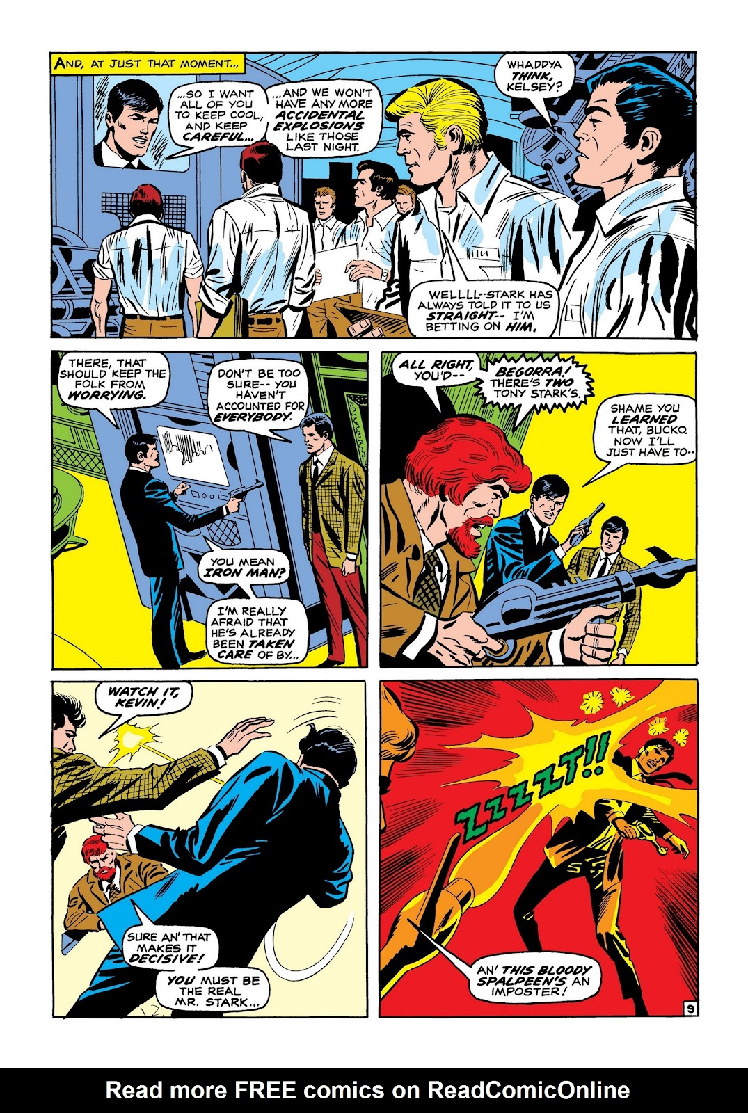 Read online Marvel Masterworks: The Invincible Iron Man comic -  Issue # TPB 7 (Part 2) - 78