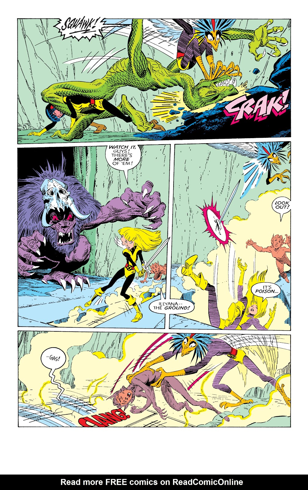 Read online X-Men Milestones: Fall of the Mutants comic -  Issue # TPB (Part 2) - 8