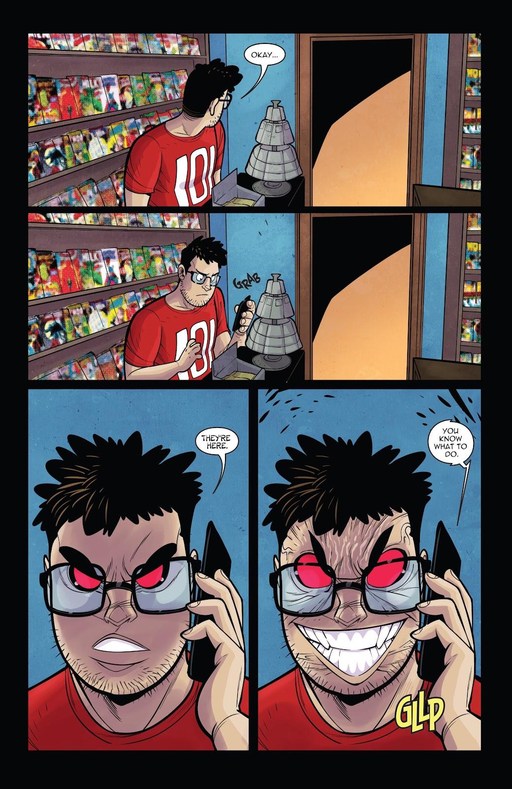 Read online Vampblade Season 3 comic -  Issue #11 - 10