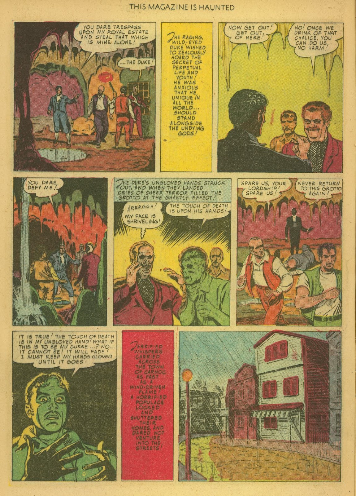 Read online This Magazine Is Haunted comic -  Issue #1 - 12