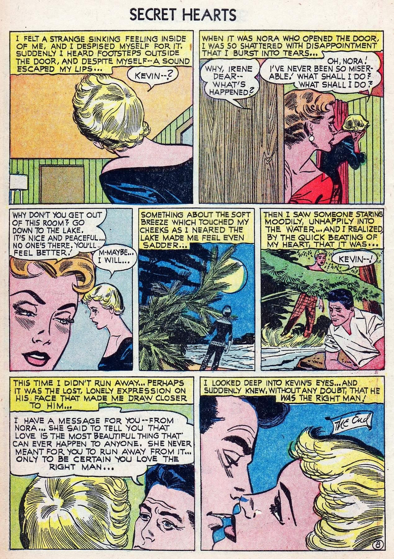 Read online Secret Hearts comic -  Issue #25 - 10