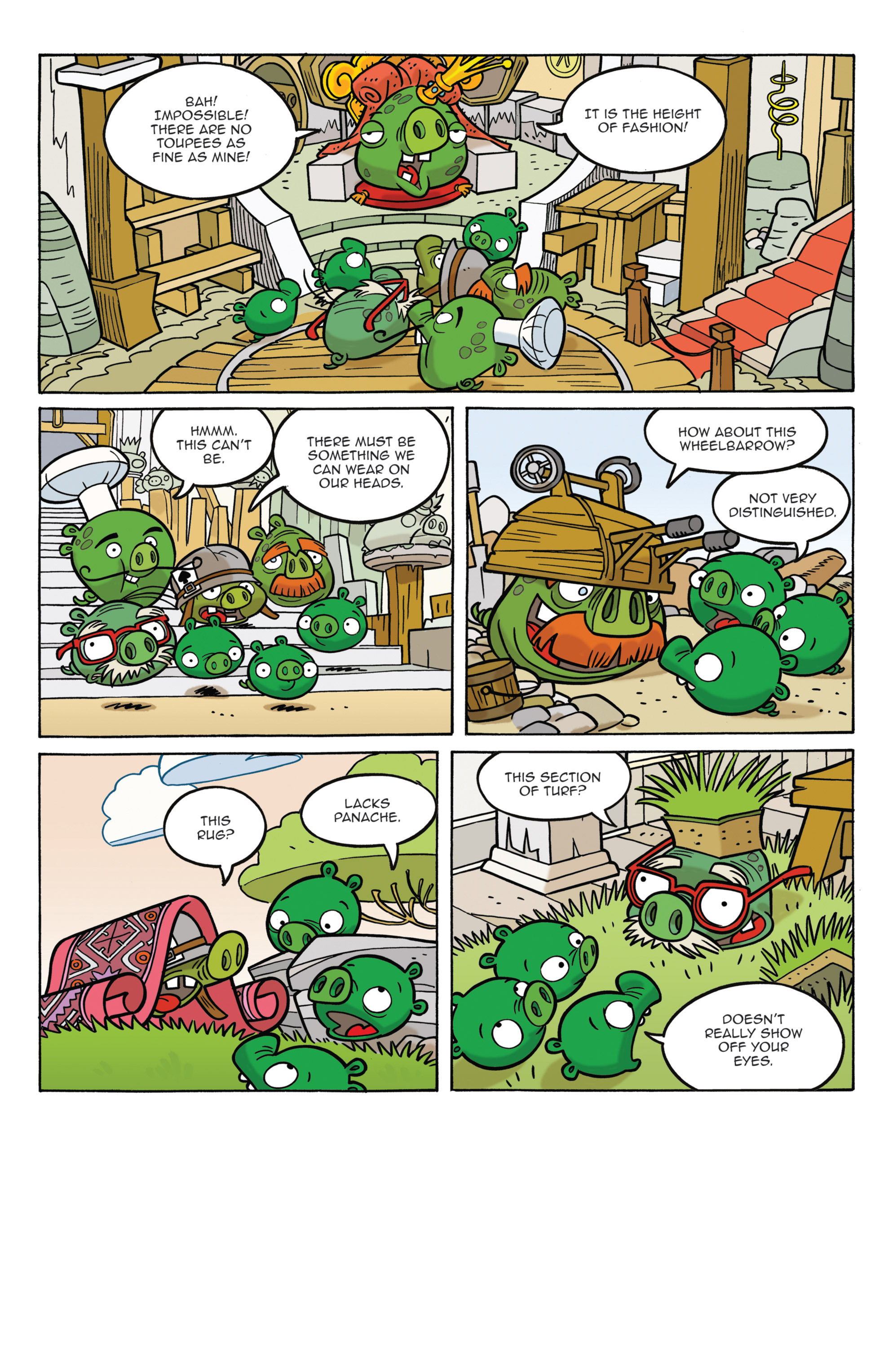 Read online Angry Birds Comics (2014) comic -  Issue #3 - 9