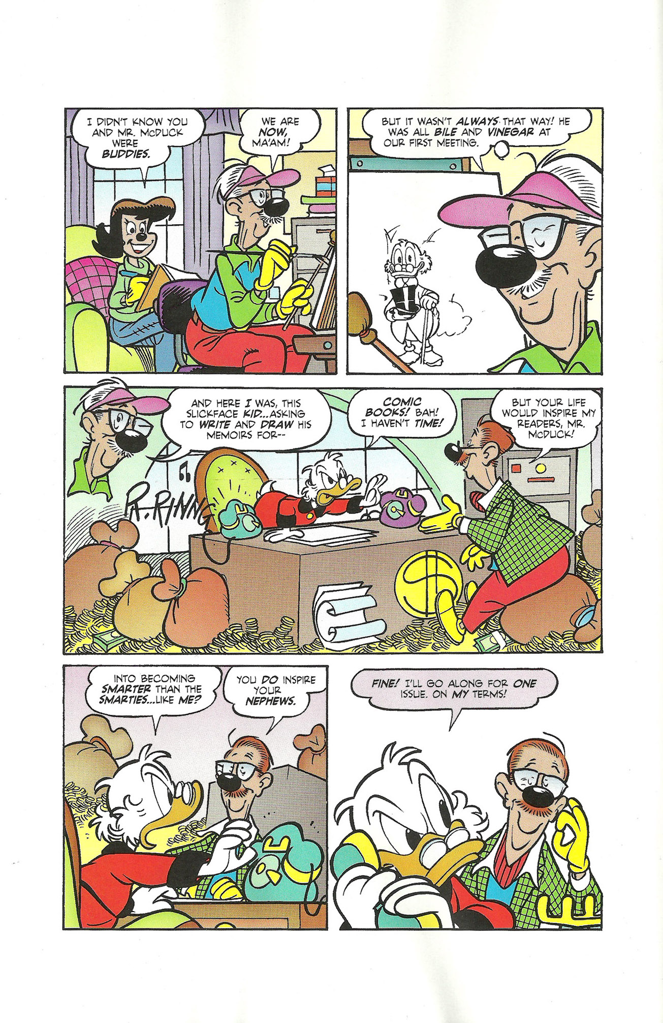 Read online Uncle Scrooge (1953) comic -  Issue #400 - 6