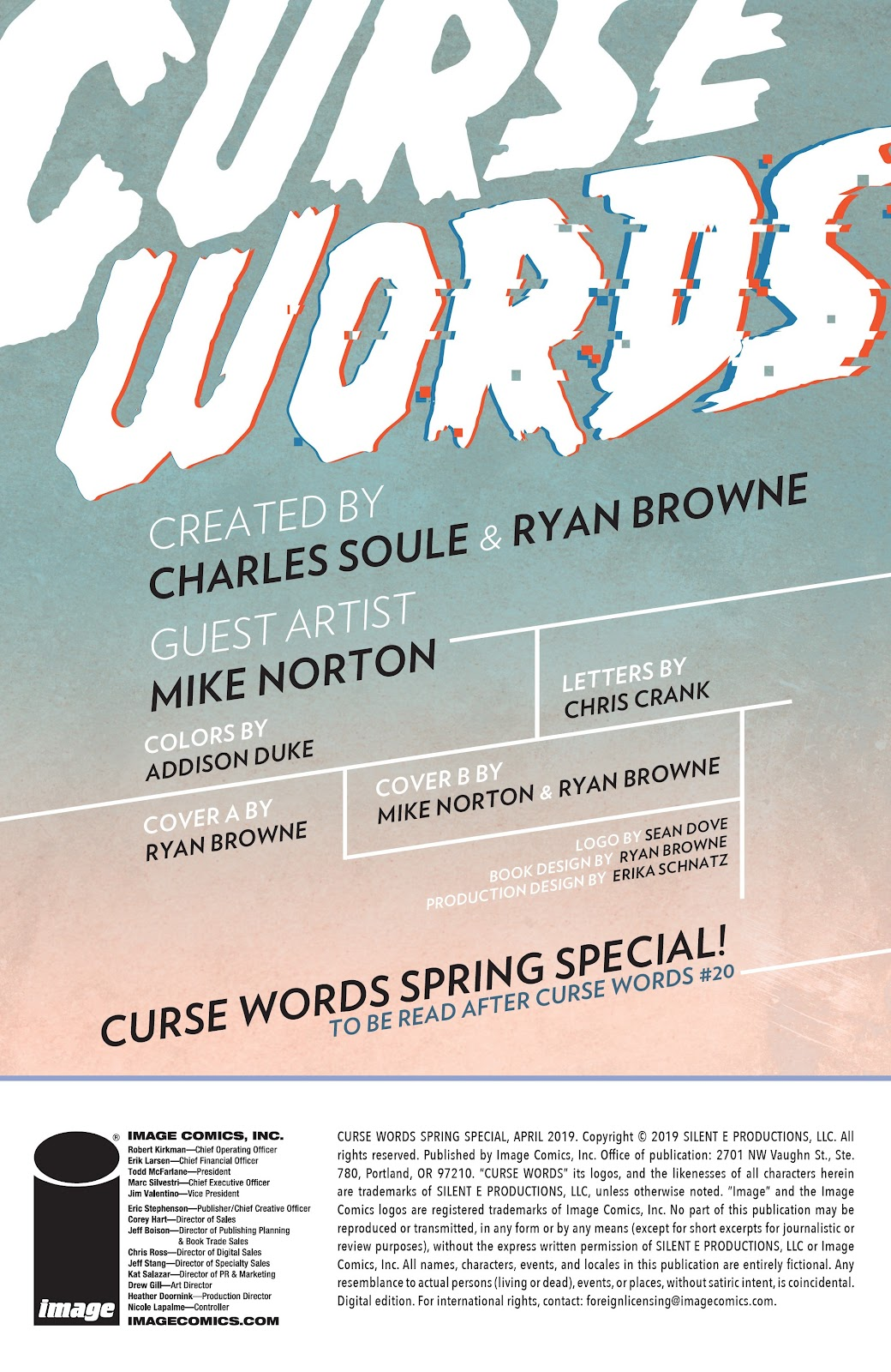 Read online Curse Words Spring Has Sprung Special comic -  Issue # Full - 2