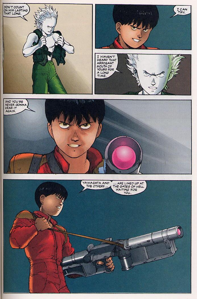 Read online Akira comic -  Issue #32 - 34