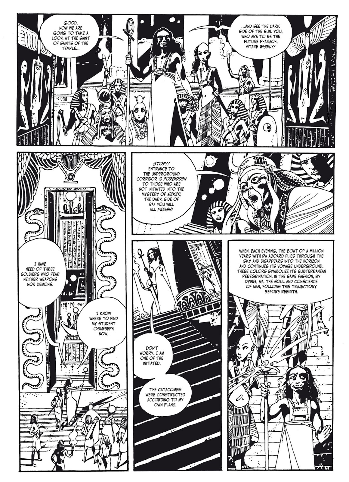 Read online The Egyptian Princesses comic -  Issue # TPB 1 (Part 2) - 52