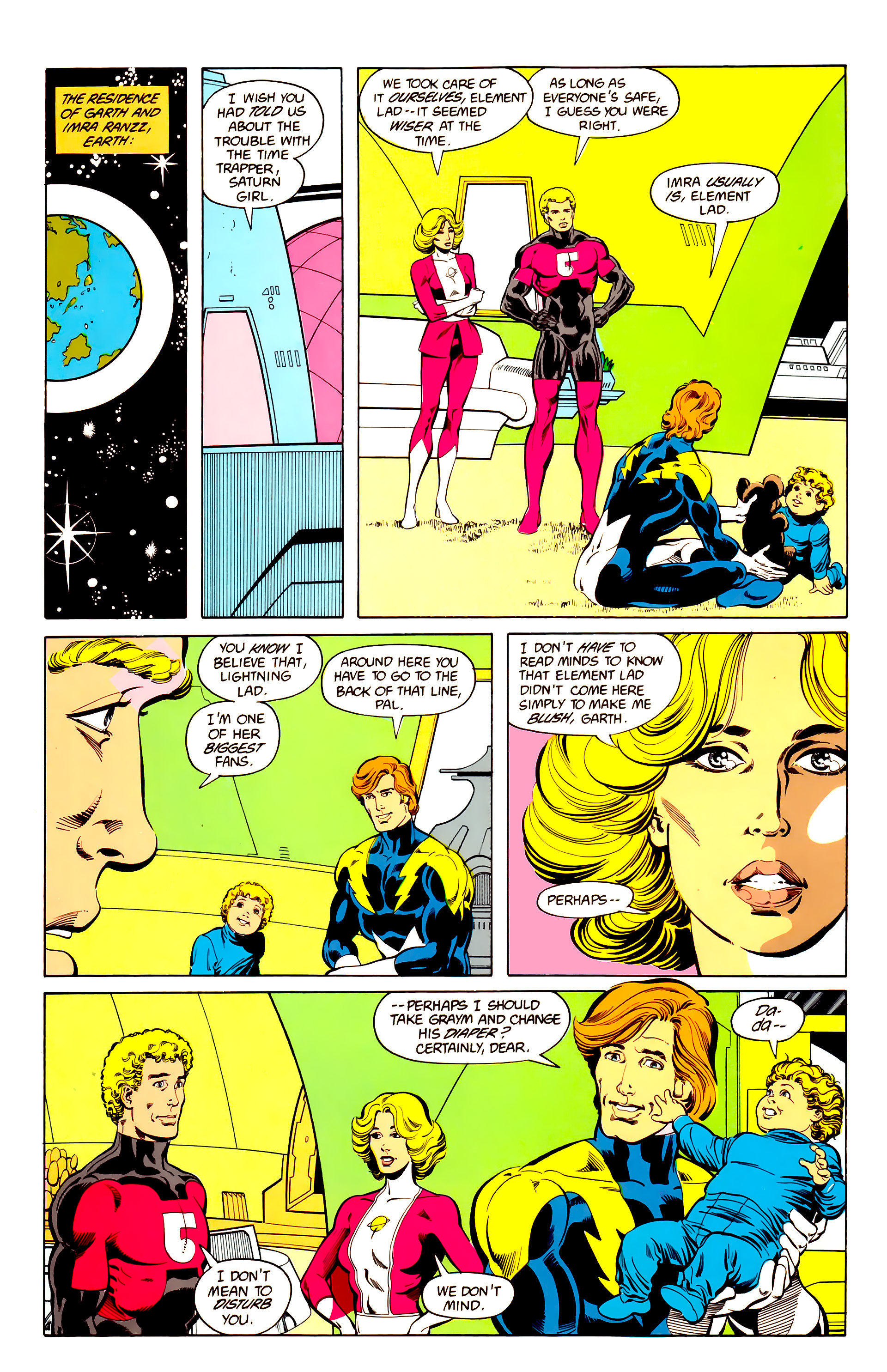 Legion of Super-Heroes (1984) 25 Page 23
