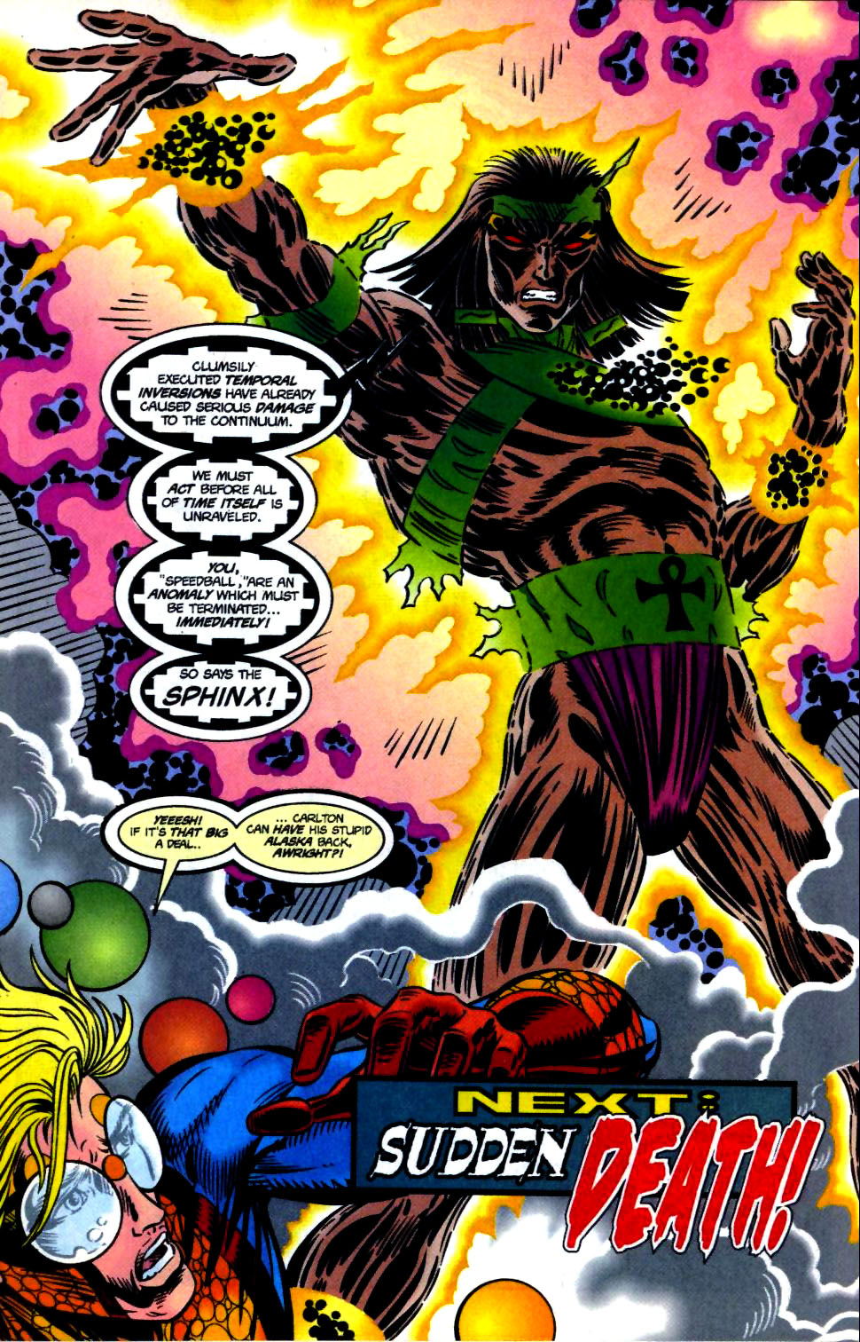 The New Warriors Issue #68 #72 - English 24