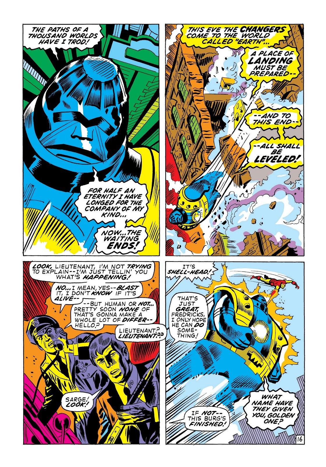 Read online Marvel Masterworks: The Invincible Iron Man comic -  Issue # TPB 7 (Part 3) - 44