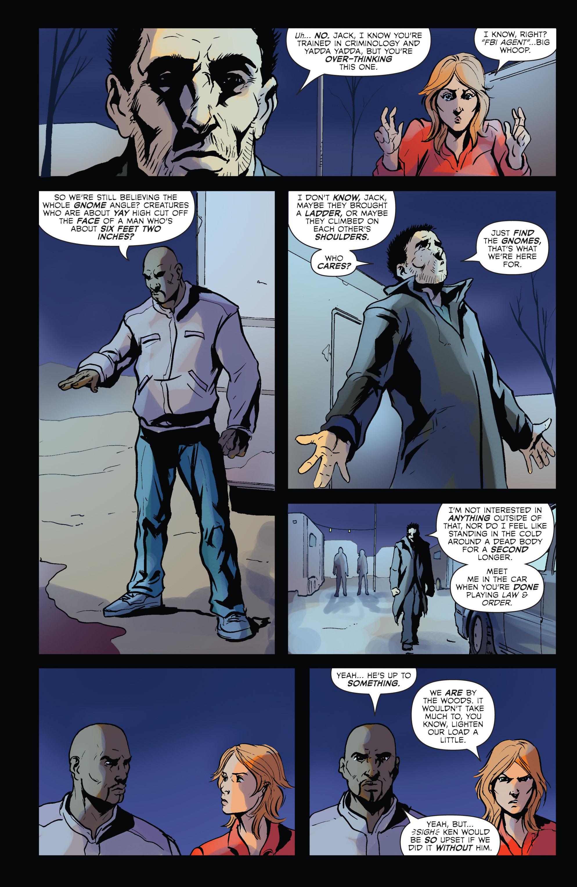Read online Hoax Hunters (2012) comic -  Issue # TPB 2 - 35