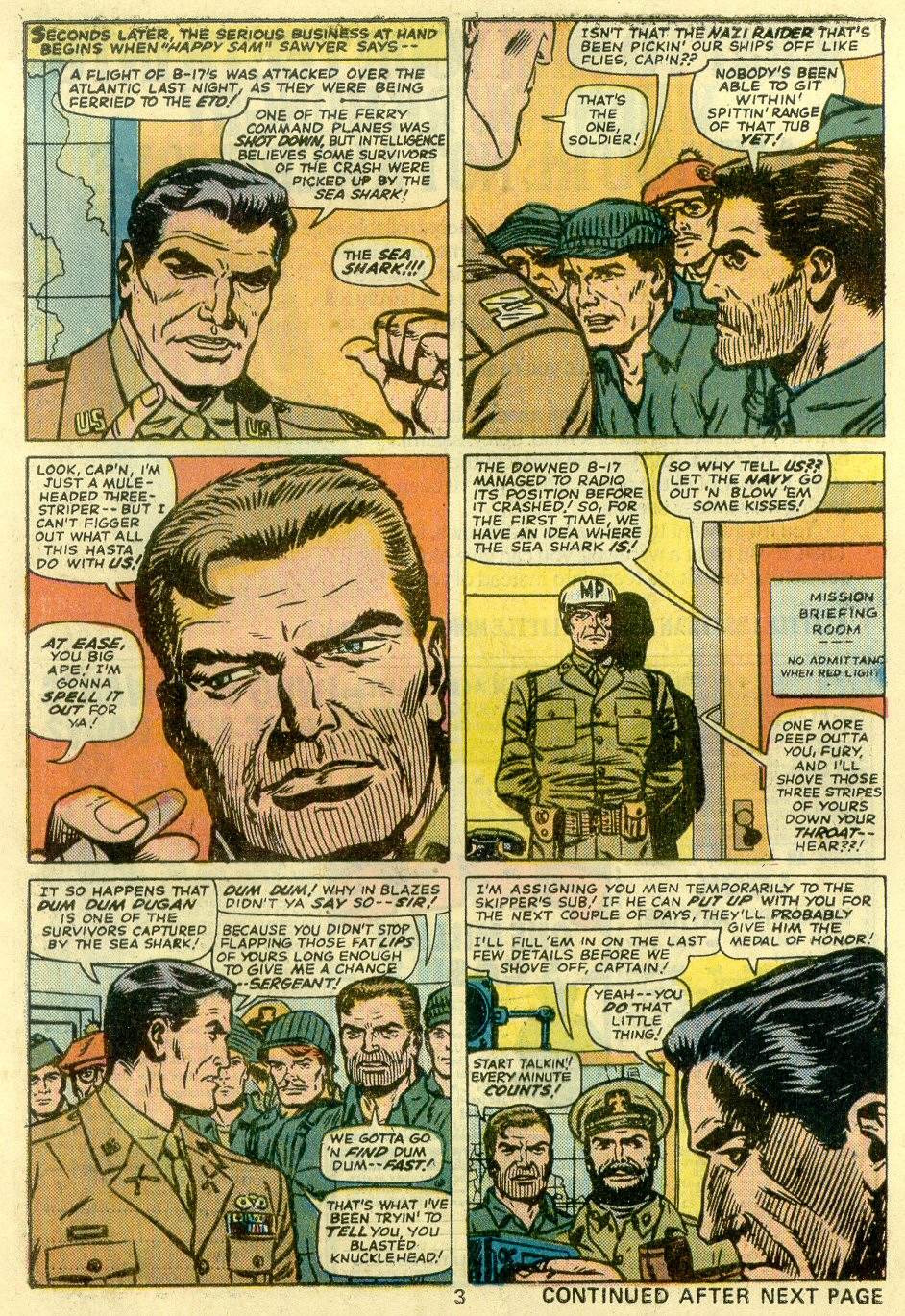 Read online Sgt. Fury comic -  Issue #128 - 5