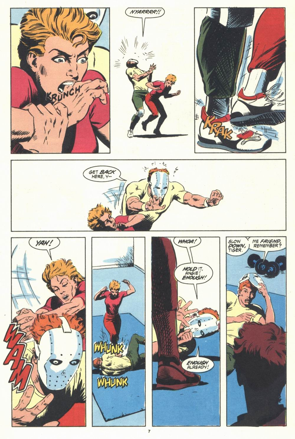 Read online Justice (1986) comic -  Issue #31 - 9