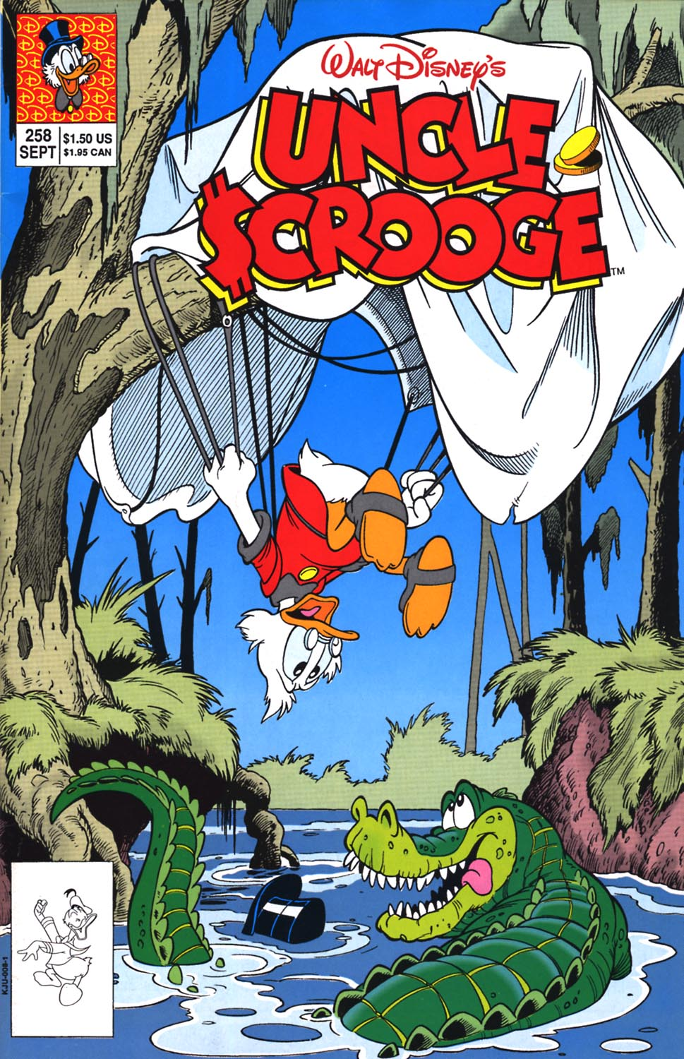 Read online Uncle Scrooge (1953) comic -  Issue #258 - 1