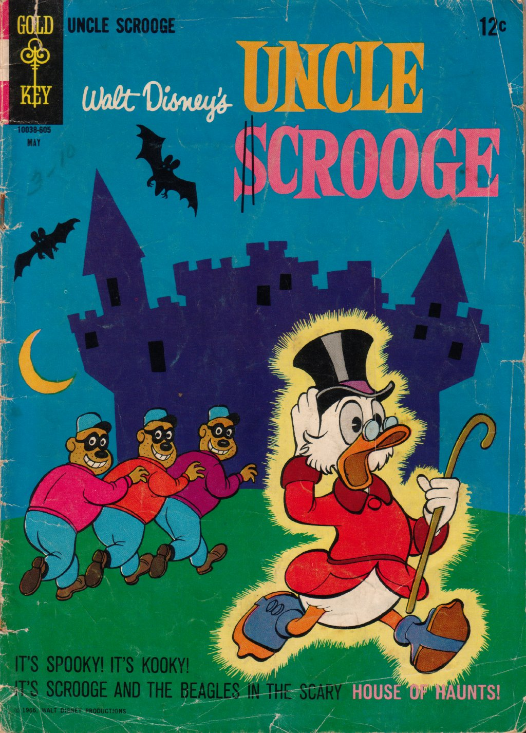 Read online Uncle Scrooge (1953) comic -  Issue #63 - 1