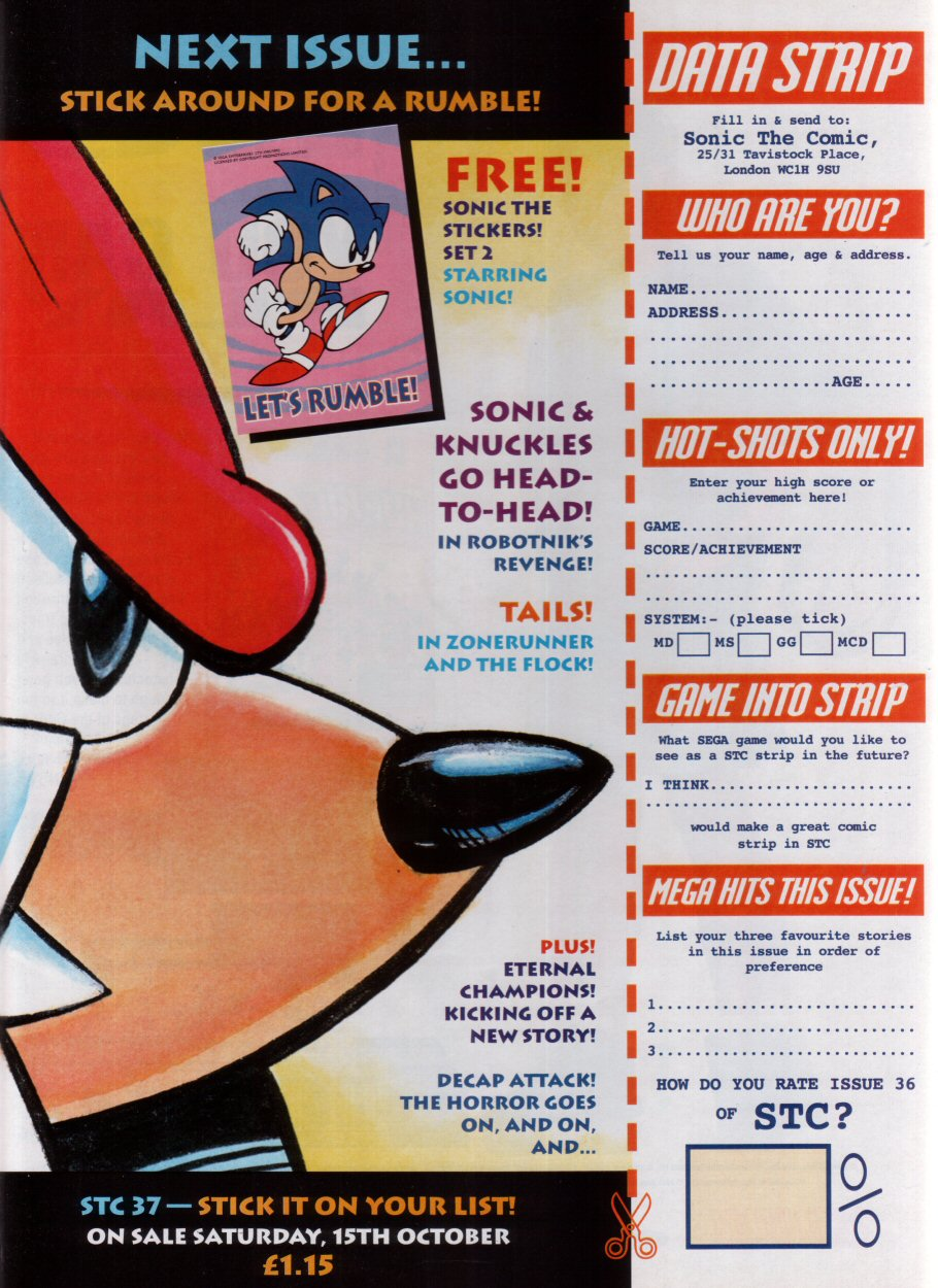Read online Sonic the Comic comic -  Issue #36 - 30