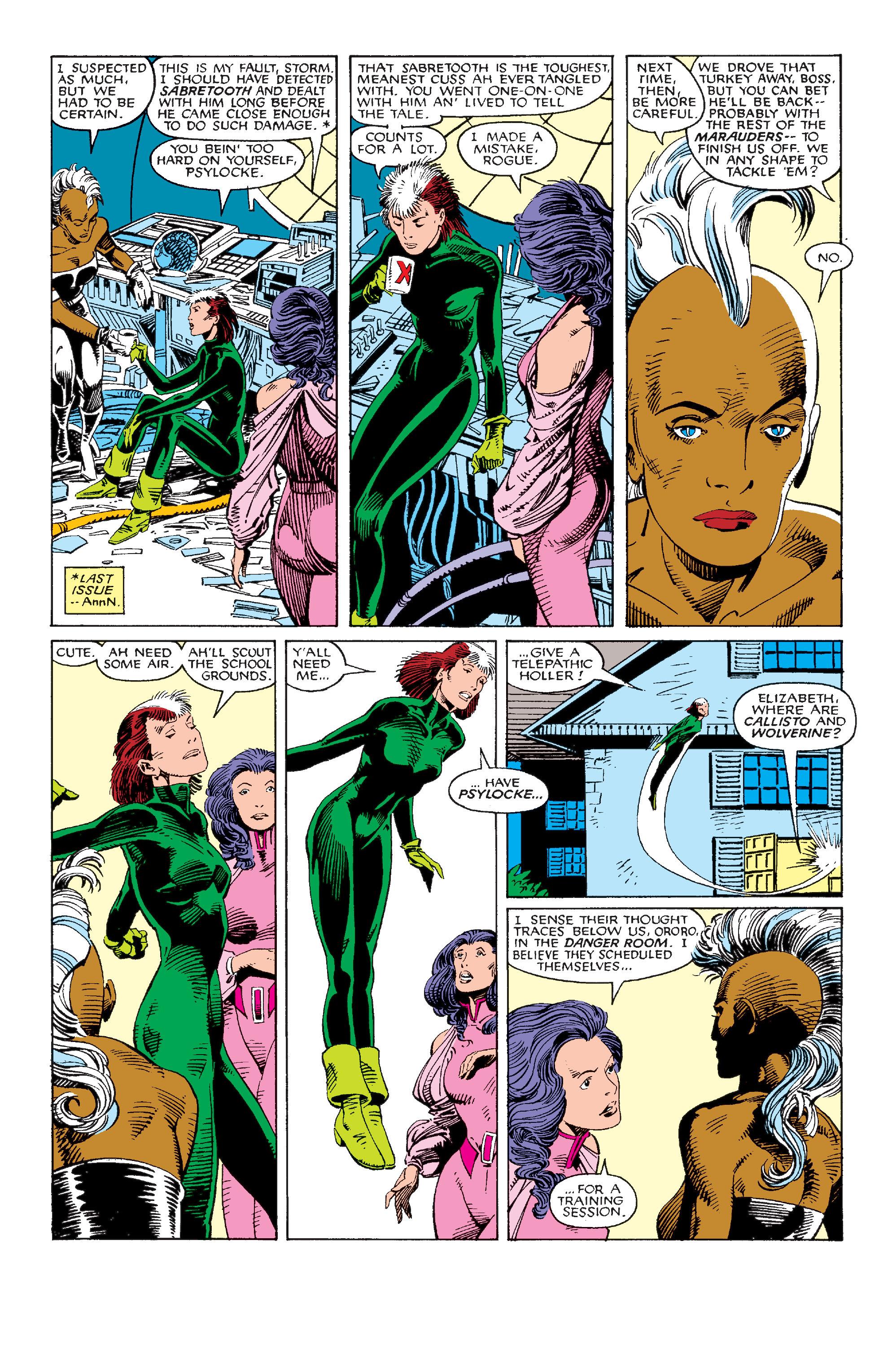 Read online Uncanny X-Men (1963) comic -  Issue #214 - 7