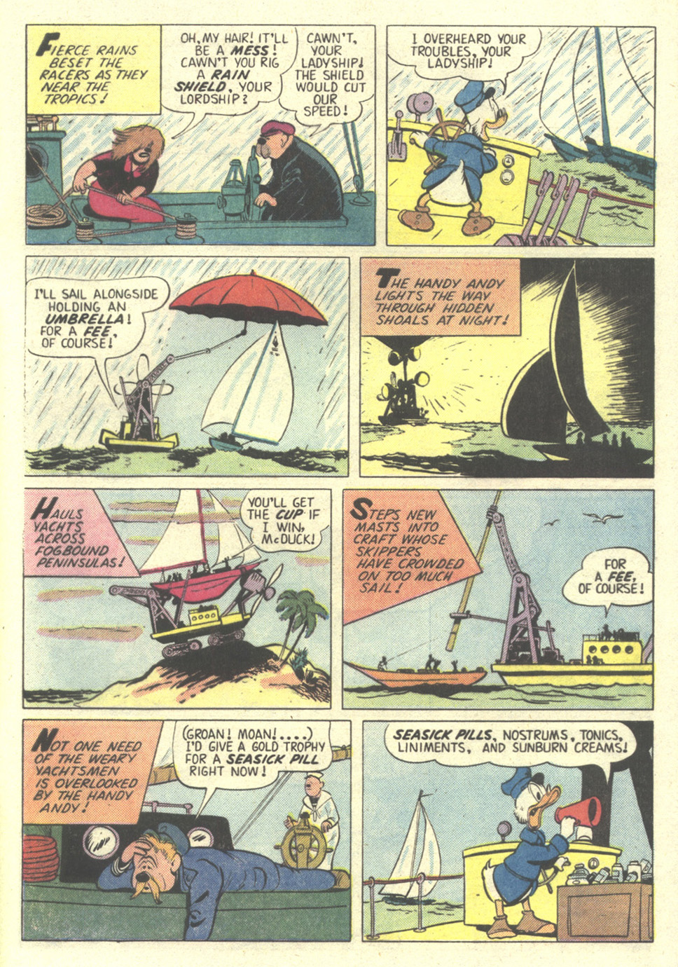 Read online Uncle Scrooge (1953) comic -  Issue #211 - 33
