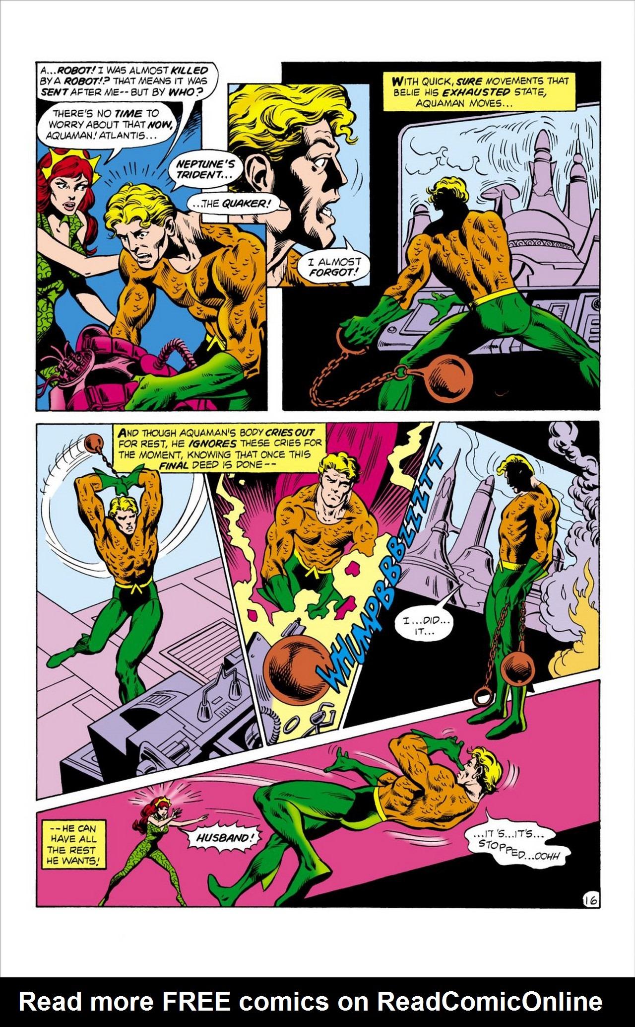Read online Aquaman (1962) comic -  Issue #62 - 17