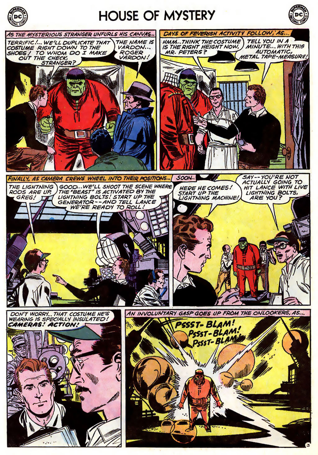 Comic House of Mystery (1951) issue 116