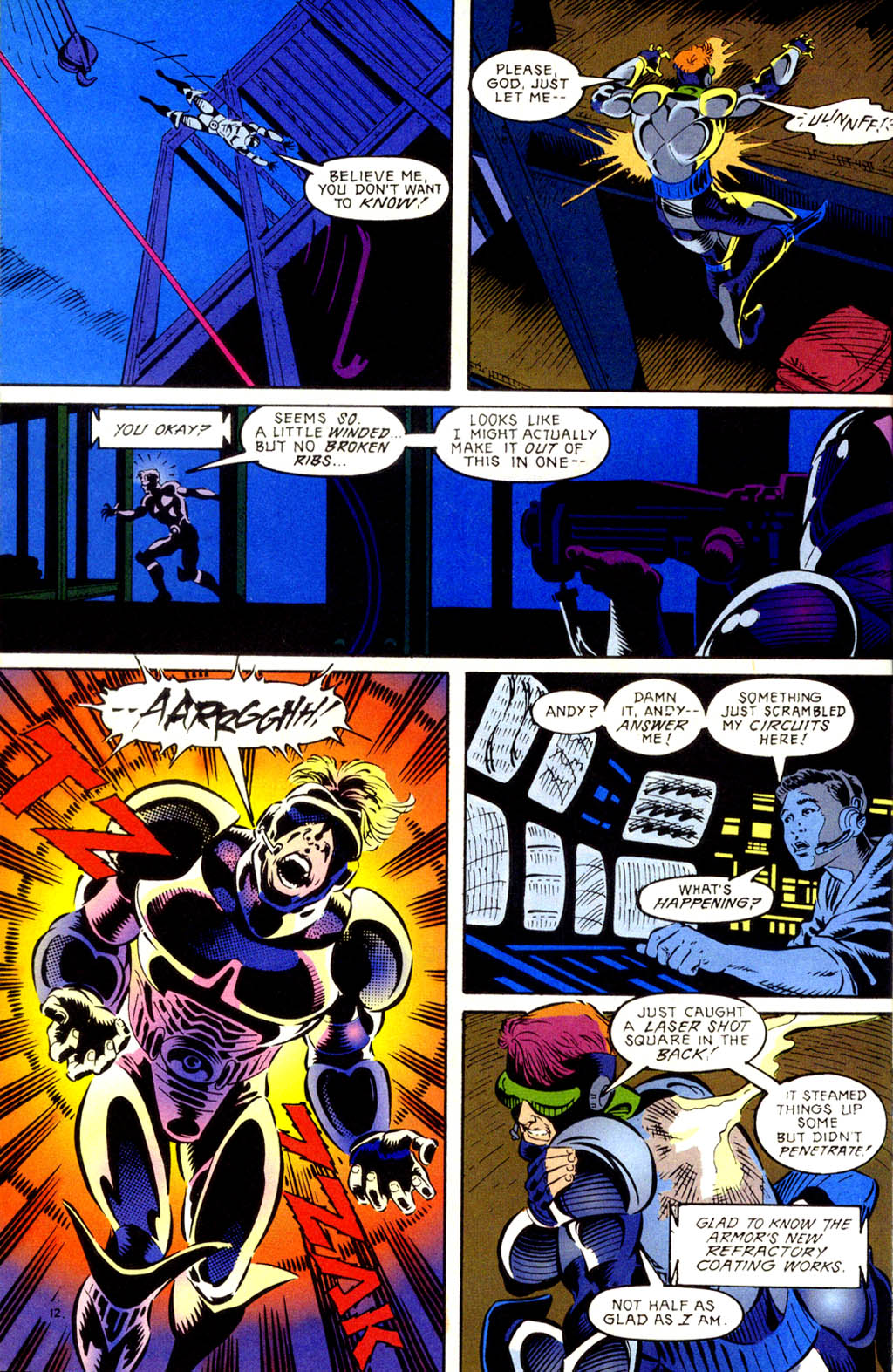 Read online Gunfire comic -  Issue #1 - 16