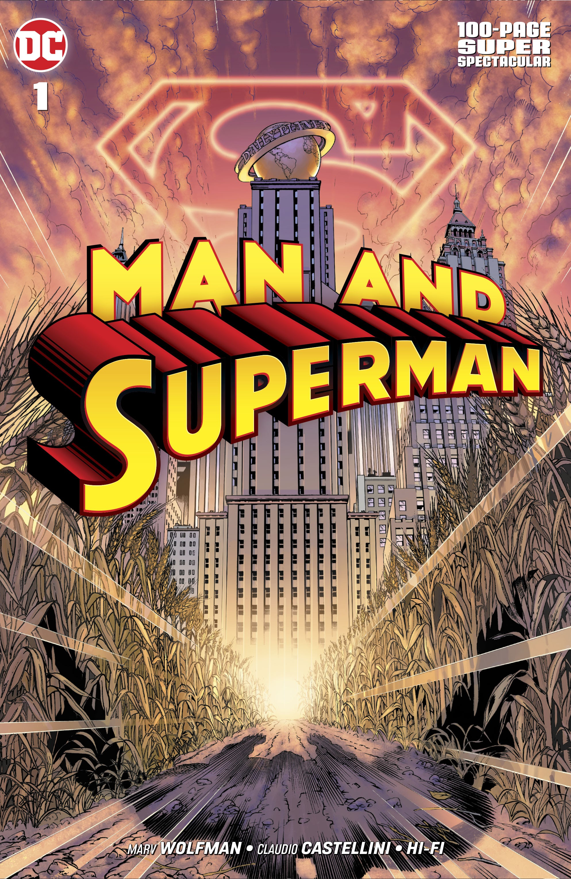 Man and Superman 100-Page Super Spectacular Full Page 1