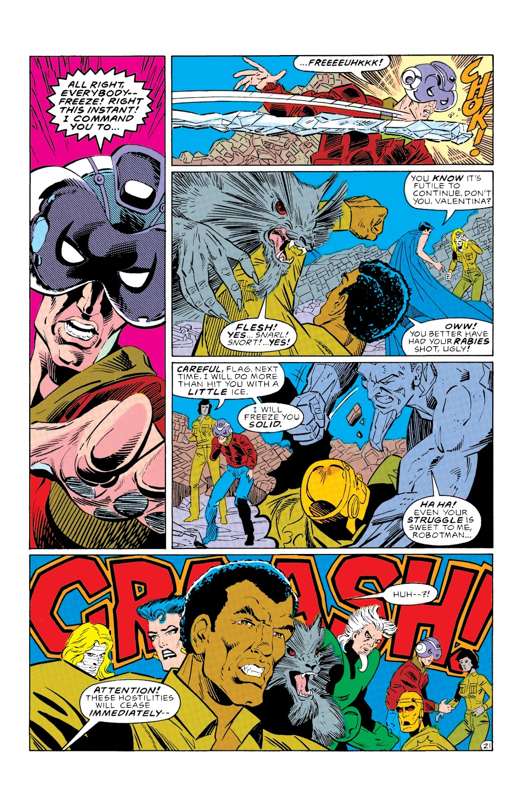 Doom Patrol and Suicide Squad Special issue Special 1 - Page 21