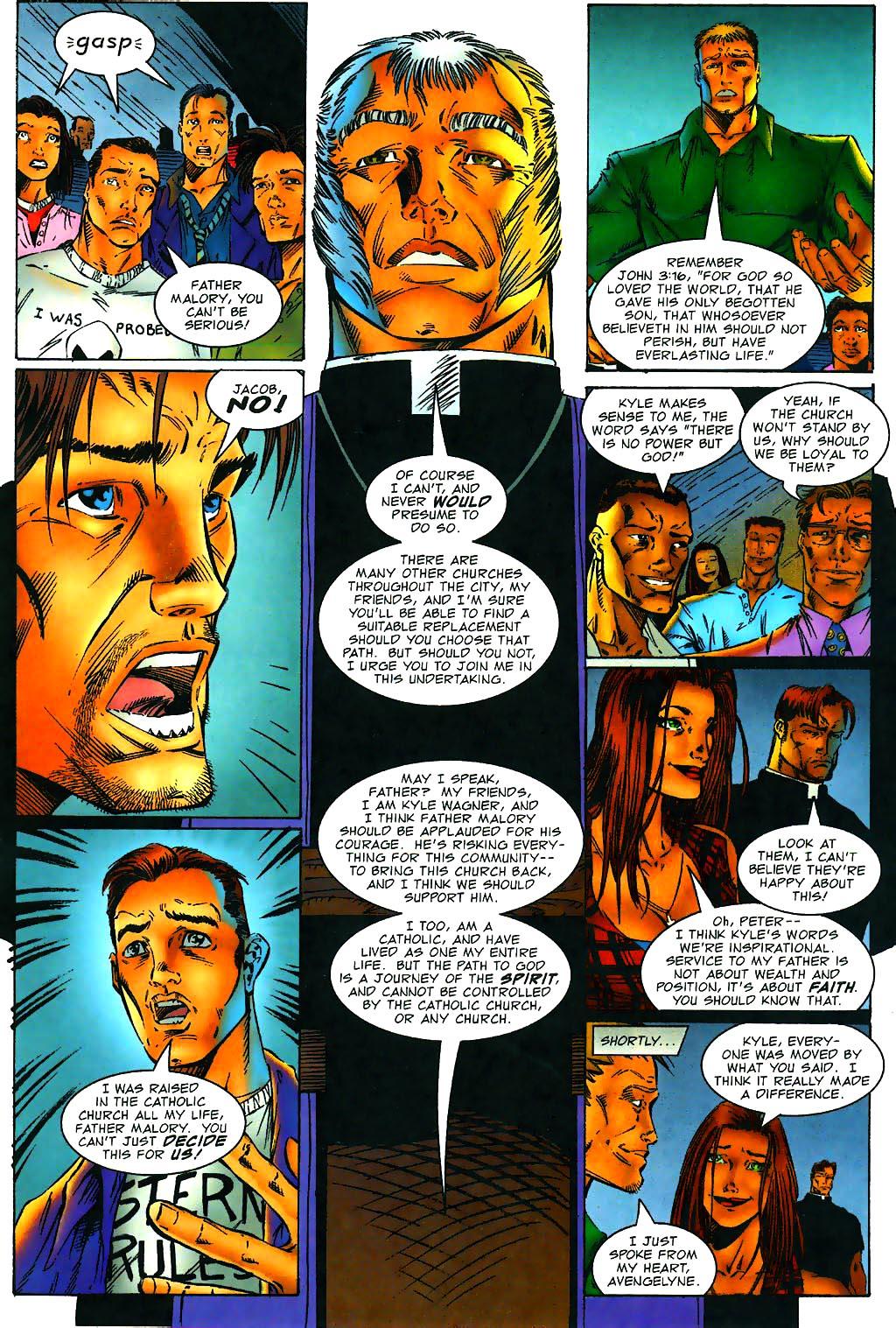 Read online Avengelyne (1996) comic -  Issue #1 - 15