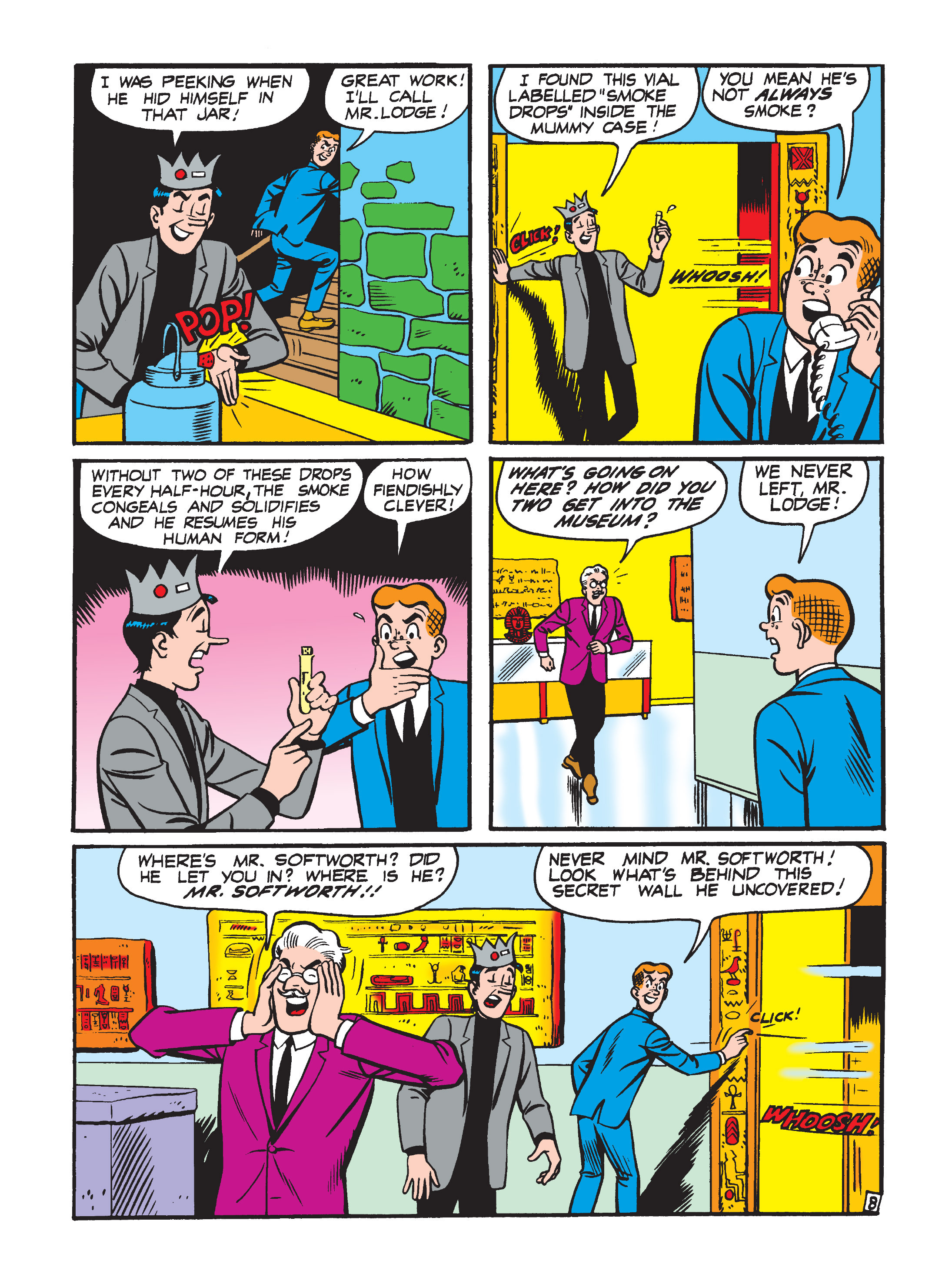 Read online Archie 75th Anniversary Digest comic -  Issue #1 - 12