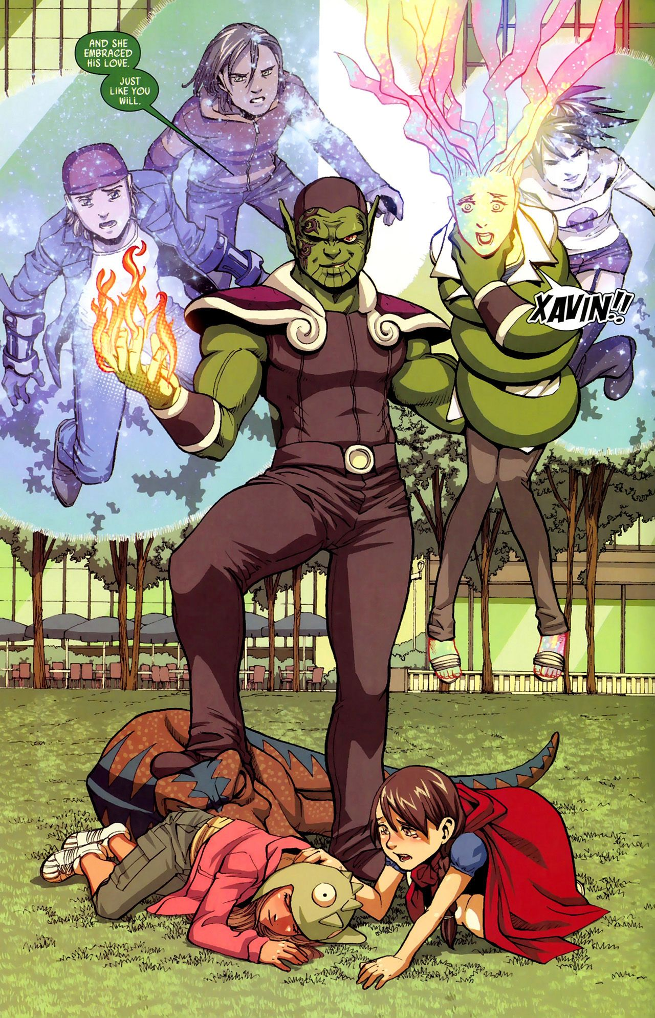 Read online Secret Invasion: Runaways/Young Avengers comic -  Issue #3 - 9