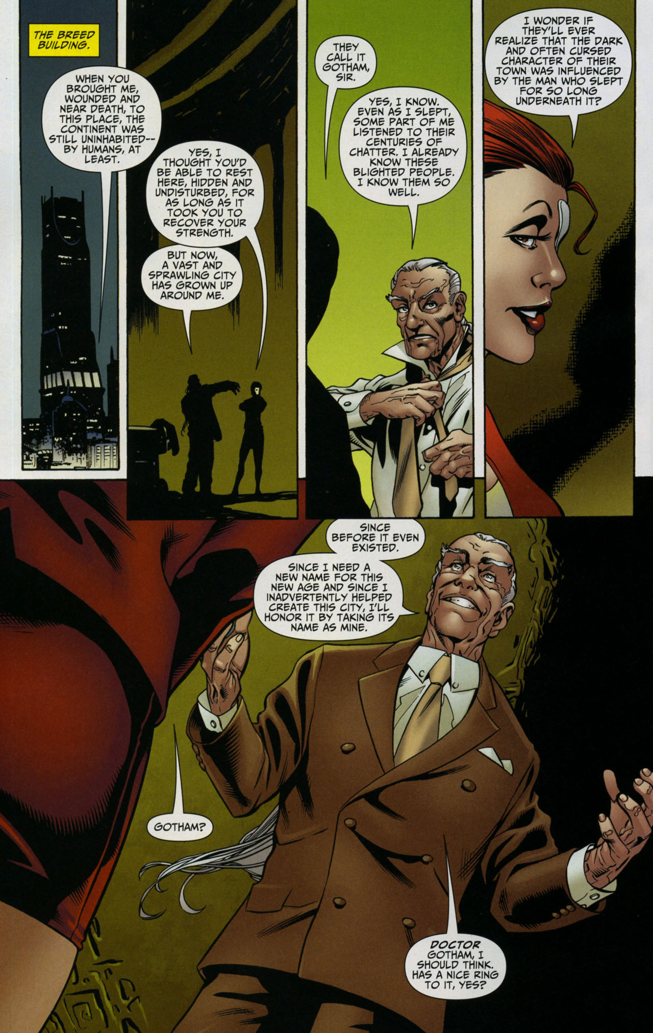 Read online Shadowpact comic -  Issue #5 - 13