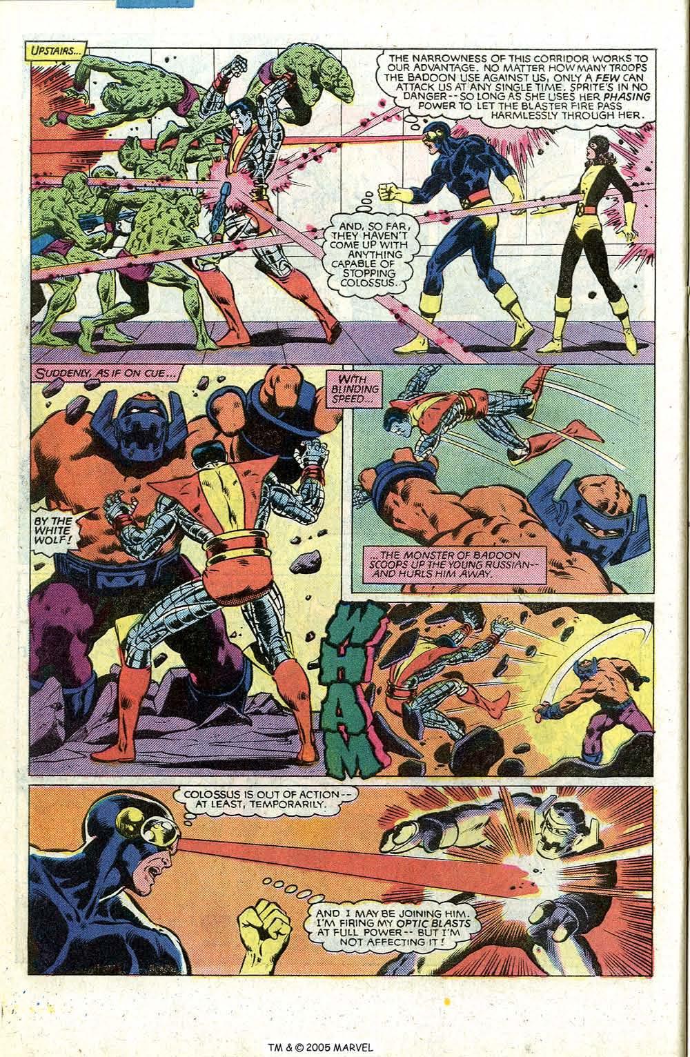Read online Uncanny X-Men (1963) comic -  Issue # _Annual 5 - 34